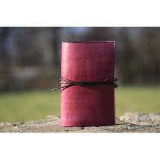 Vínový deník z hovězí kůže