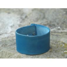 Náramek - modrý, široký