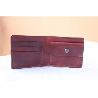 Kožená peněženka pánská - palisandr