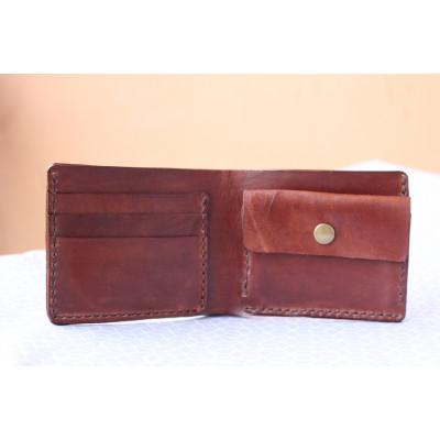 Kožená peněženka pánská - kaštan