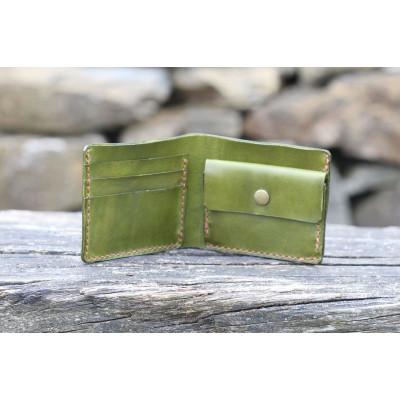 Pánská kožená peněženka - khaki