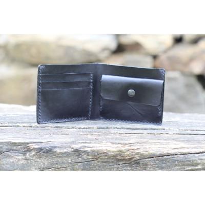 Pánská kožená peněženka - černá