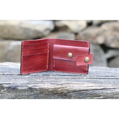 Pánská kožená peněženka - borovice