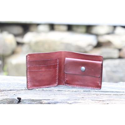 Pánská kožená peněženka - kaštan