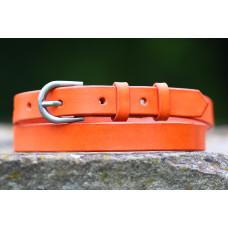 Oranžový tenký opasek
